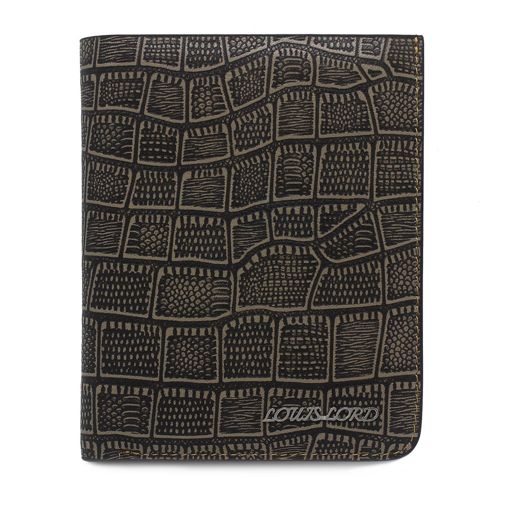 RFID Leather Bifold Wallets Women Men Flipout Slim ID Wallet Trifold