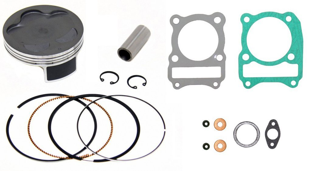 Piston Kit Standard Bore 65.97mm~1987 Suzuki LT-4WD QuadRunner 250