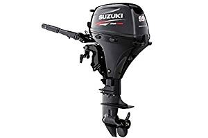 "Suzuki 9.9 HP EFI 4-Stroke Outboard Motor Tiller 15"" Shaft Engine"