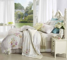 100% tencel printed bed sheet,pillowcase,comforter,.duvet cover