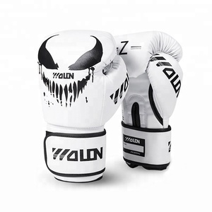 Best Cheap Private Label Weight Sparring Boxing Glove High Quality Custom Logo Pu Leather Muay Thai Fight Workout Boxing Gloves