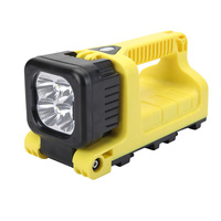 cree 12w led 1000 lumen portable fire rescue tool rechargeable work lamp 5JG-9912