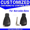 New Uncut Remote Key Shell Case Fob for Mercedes-Benz Car Key Shell 3Button CS072