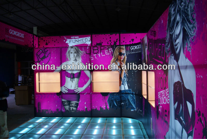 aluminum trade show global truss display stand