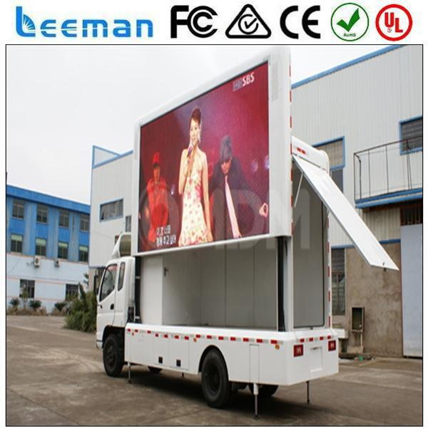 prices of advertising vehicle 2015 Leeman LED Truck advertising