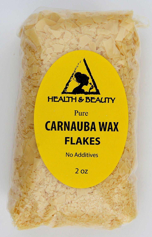 Carnauba Wax Organic Flakes Brazil Pastilles Beards Premium Prime Grade A 100% Pure 2 oz