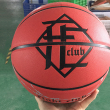 mini genuine leather magic sport basketball ball