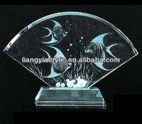 Acrylic deep carved crystal crafts