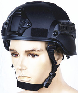 MICH 2000 Style ACH Tactical Helmet with NVG Mount and Side Rail