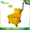 Plastic Down-press single bucket Mop Cleaning Trolley For Hotel