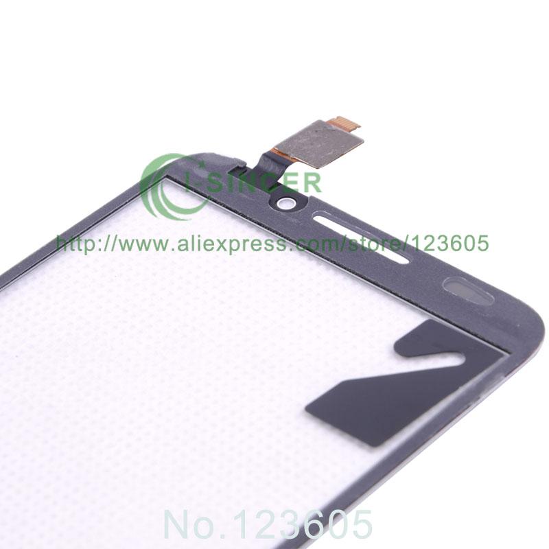 100% тестирование белый мобильный телефон с сенсорным панель для Alcatel One Touch S7 7045 OT7045 сенсорный экран планшета стеклянная панель