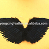 80*50cm black feather angel wings