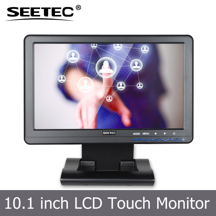 10.1 Inch LED Backlight VGA HDMI Ypbpr LCD Car Seat <strong>Monitor</strong> 1024*600 pixels multi-input laptop display