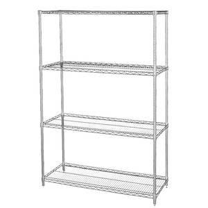 stand alone shelves. Get Quotations · Wire Shelving Units With Four Shelves, 36 X 18 74 (L D Stand Alone Shelves