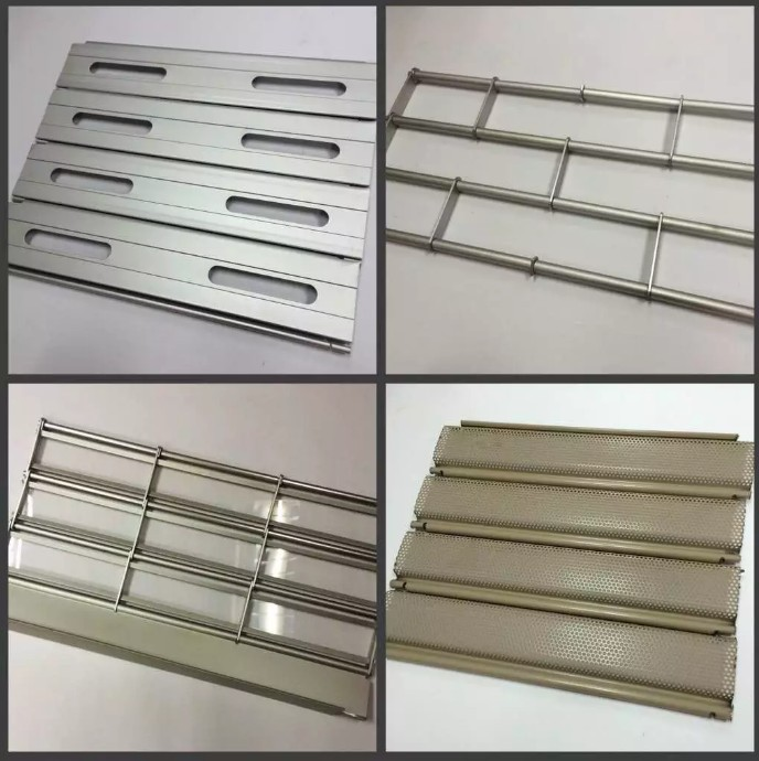 product-24th Advertising Modern Design Security Stainless Steel Grilles Roller Shutter Door for Comm-1