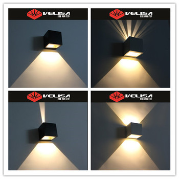 Alibaba Best Ing Led Outdoor Up Down Wall Mounted Lamp Exterior Lighting Light
