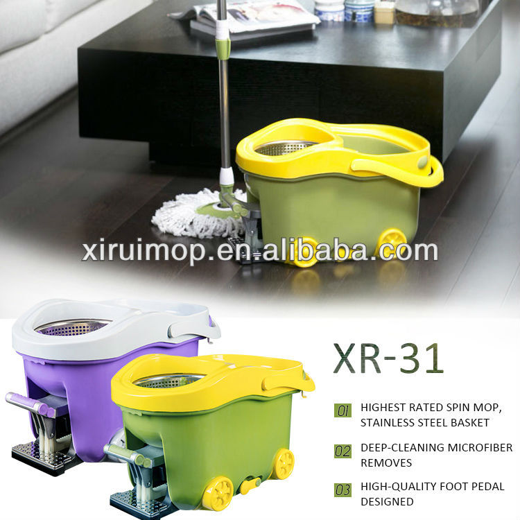 Cleaning tools spin mop floor dust mop ,dust floor cleaning mop(XR31)