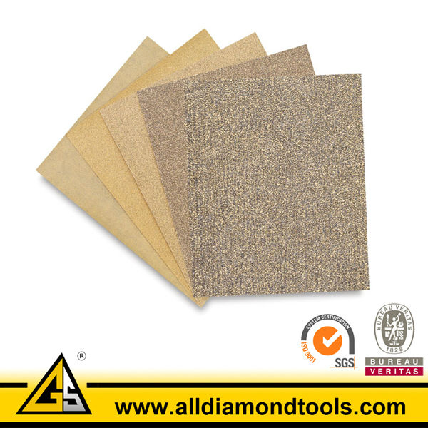 Colored Abrasive Sand Paper Emery Cloth