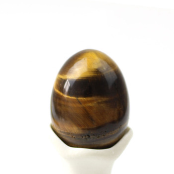 Natural tigers eye crystal yoni egg for kegel exercise