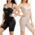 New Black Butt Lift Mesh Patchwork Body Shaper Plus Size Women Slimming Tummy Control Shapewear