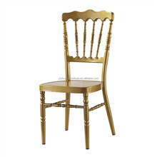 Wholesale aluminum gold napoleon chair YCX-A39