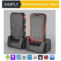 Simply W88 IP65 waterproof shockproof handheld mobile industrial PDA rugged barcode scanner android