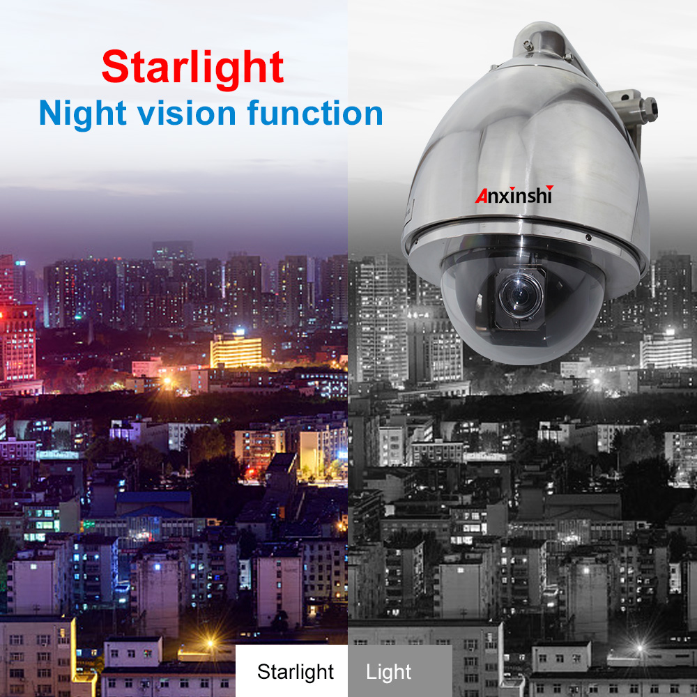 Explosion-proof camera H.265 2.0MP HD Full  low illumination IP High Speed Dome Camera
