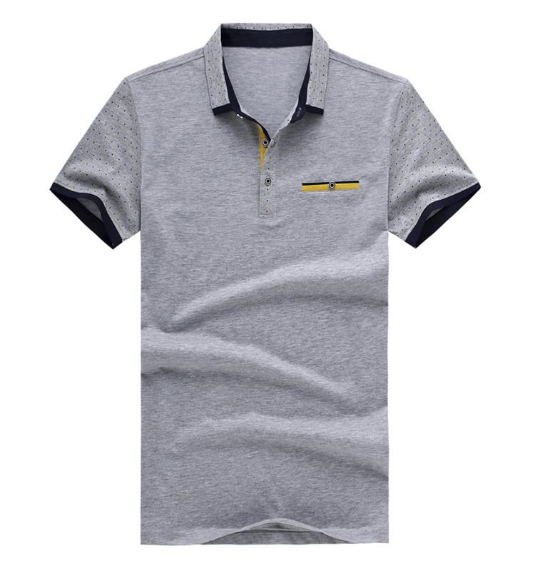8c86ca65f Get Quotations · Polka Dot Mens Polo Shirts Short Sleeve Slim Fit Cotton Polo  Shirt Man New 2015 Summer