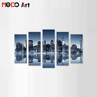 Hot Sale Home Goods Wall Art Canvas Painting City Canvas