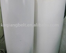 Silicone rubber conveyor belt