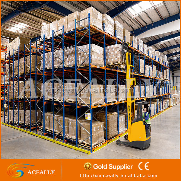 CE/SGS/ISO certificated Q235 Steel Heavy Duty Selective Industrial Rack