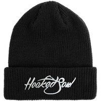Custom Black Knit Hat/ Beanie/ Winter Hat Embroidered Logo 2018 Wholesale
