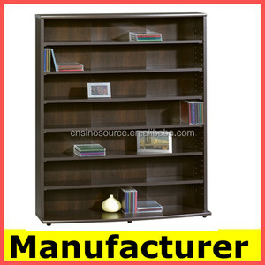 modern design wooden used library bookcases ,cabinet,book rack