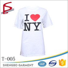 custom i love new york ny bedrukken t <span class=keywords><strong>shirt</strong></span> wit