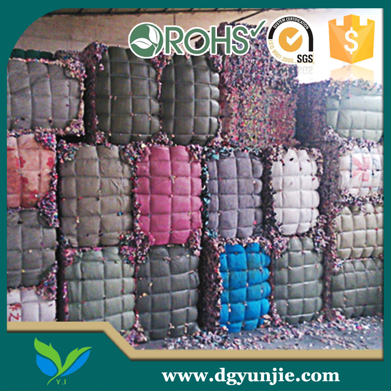 mixed color polyurethane foam scrap with good tensile