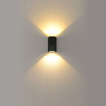 Led Outdoor Lighting 3w 6w Down Up Down Led Wall Light Wall Mounted Outdoor Design Light Ip65 Wall Led Buy Up And Down Wall Light Modern Wall Lights Exterior Outdoor Wall Led Light Product