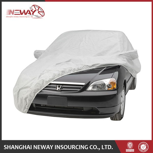 Embossed logo full car cover for universal