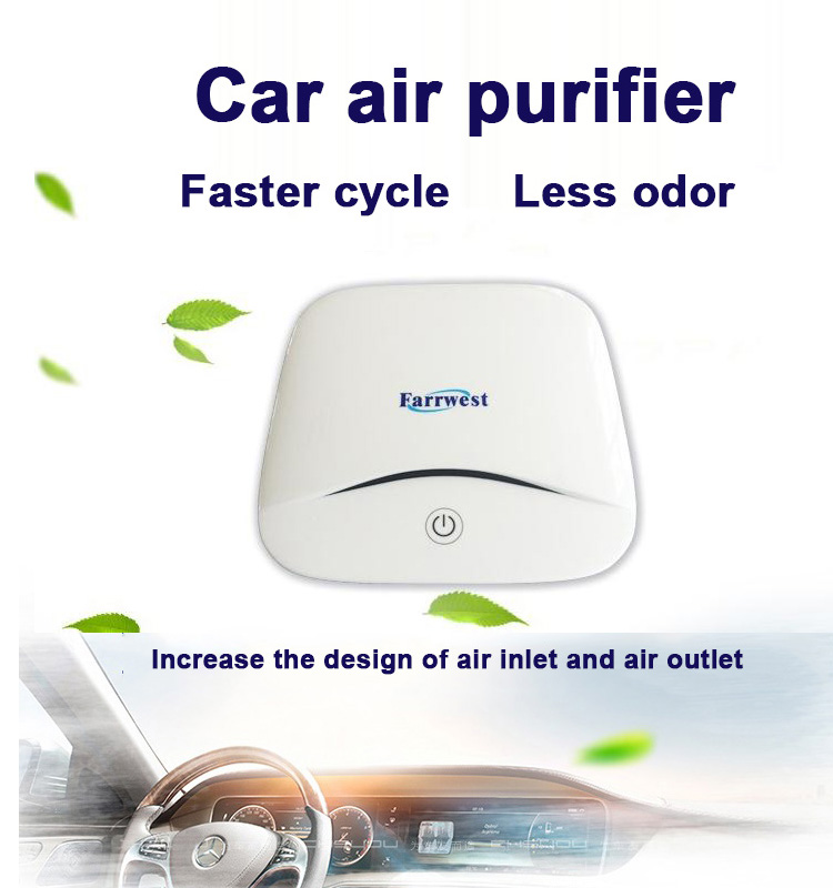 2018 new design car air purifier
