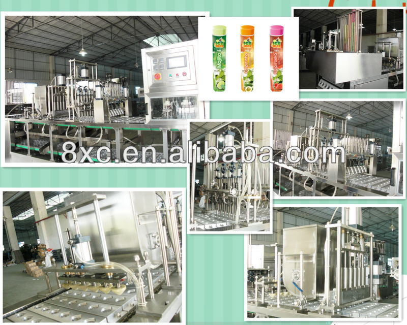 packaging machine for calippo tube