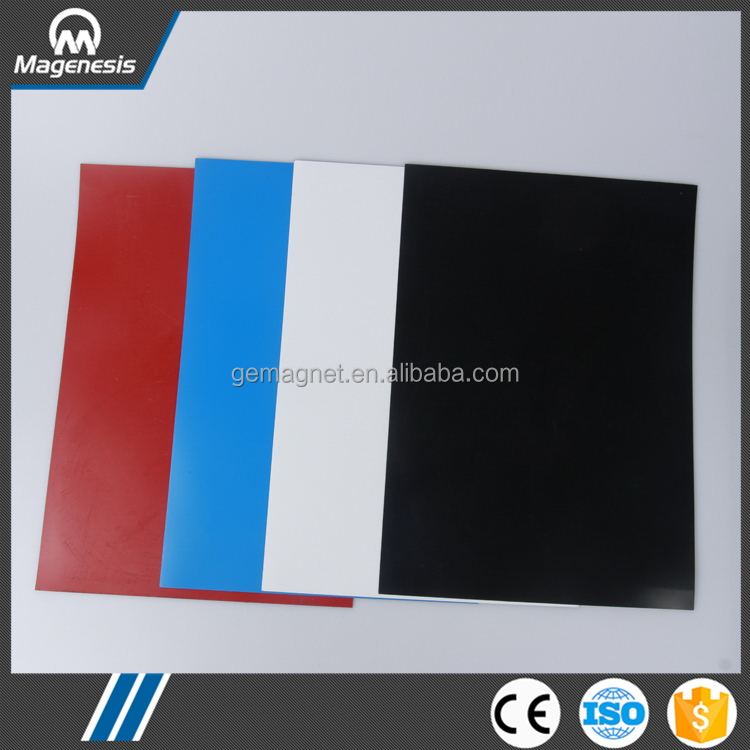 In many styles crazy selling flexible rubber coated a4 magnetic sheet