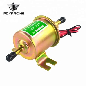 Low Pressure Bolt Fixing Wire Diesel Petrol HEP-02A For Car Carburetor Motorcycle ATV 12V Electric Fuel Pump