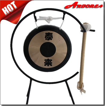 desk gong tailai gongs for sale musical instrument buy gong desk gong antique chinese gong. Black Bedroom Furniture Sets. Home Design Ideas