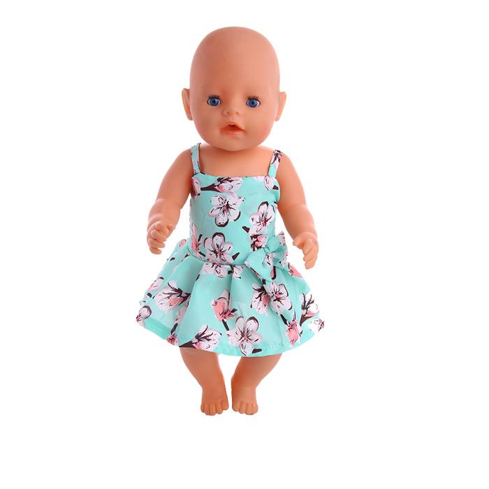 Одежда для кукол, 15 видов стилей, одежда ручной работы, платье, подходит для 18 дюймов, американская кукла и 43 см, кукла для новорожденных, для ...(Китай)