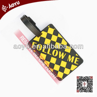 2014 new year promotional travel durable luggage tag