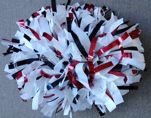 new plastic glitter pom poms for cheerleading
