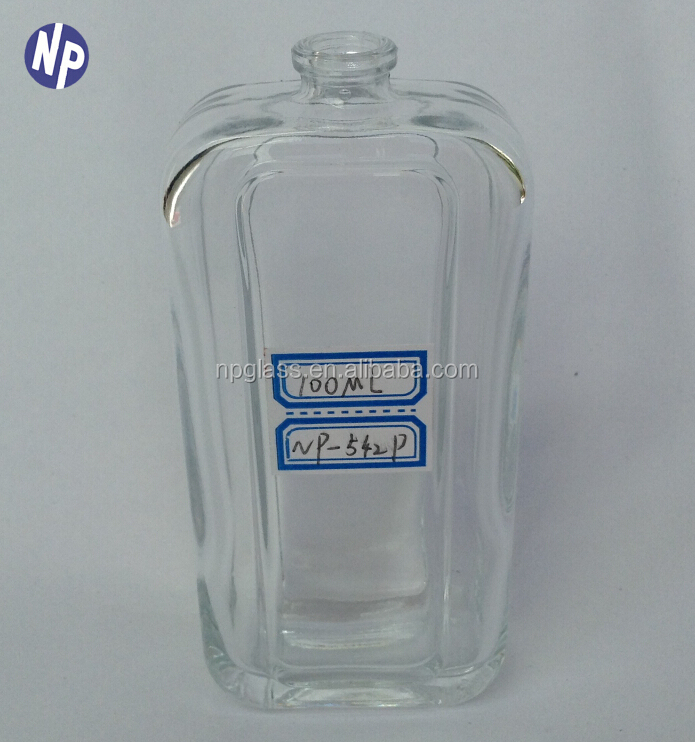 glass perfume bottles 3 oz