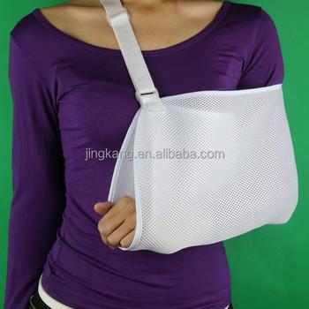 Ortopédico respirable brazo roto Sling hombro ajustable soporte brazo  cabestrillo 7209ce254230