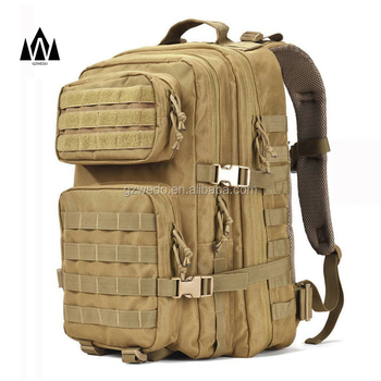 d304056823 Military Tactical Backpack Large 3 Day Waterproof Assault Pack Army Molle  Bug Out Bag Backpacks Hunting