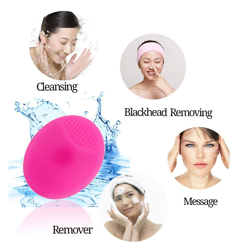 Anti-bacterial Body Shower Massager Silicone Baby Bath Brush