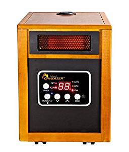 Dr. Heater DR-968H Infrared Portable Space Heater with Humidifier, 1500W by Dr Heater USA